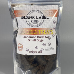 CINNAMON BURST SMALL DOG TREAT (ISOLATE) CHOOSE SIZE