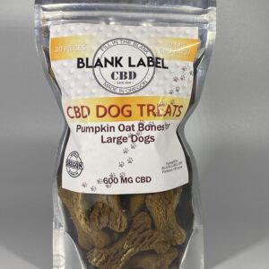 PUMKIN OAT LARGE DOG TREAT (ISOLATE)