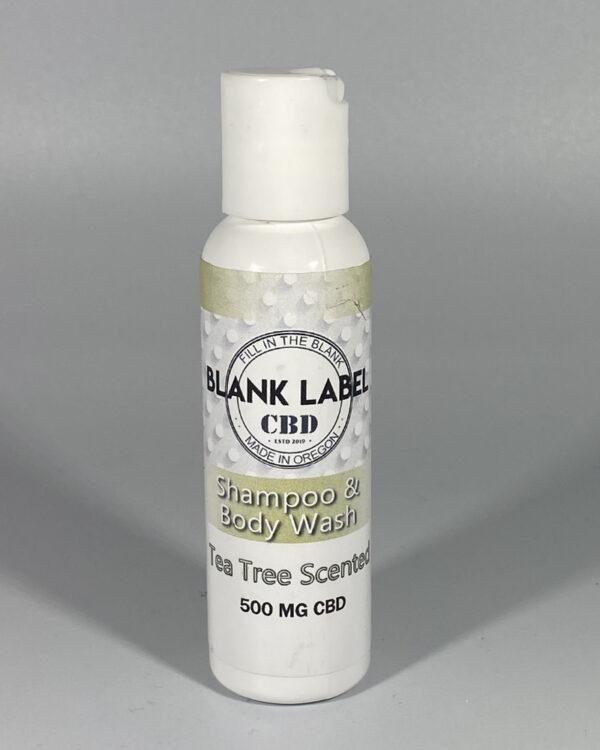 500mg CBD Shampoo and Body Wash