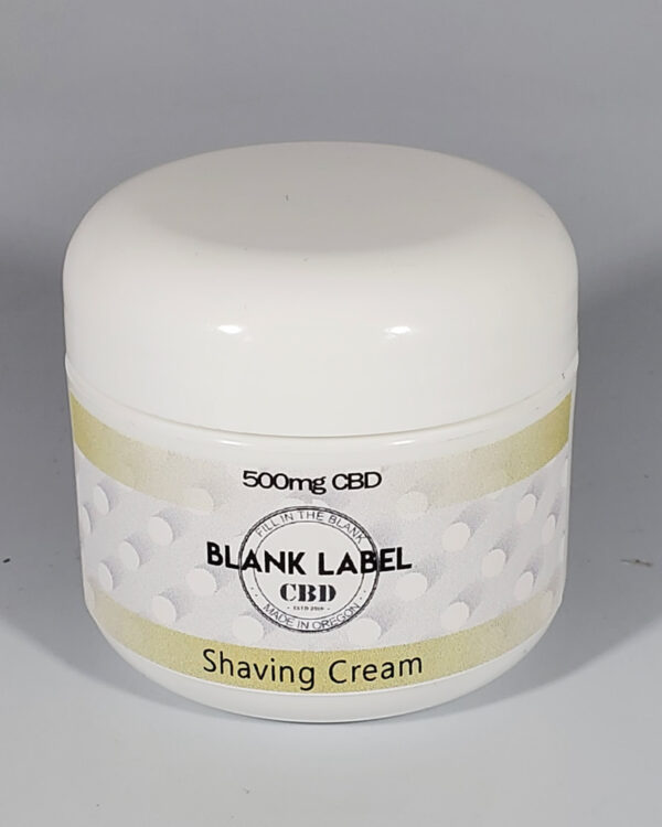 500mg CBD Shaving Cream