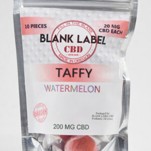 CBD Taffies Watermelon Flavor